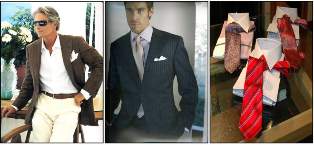 Men's Dress Apparel and Ties
