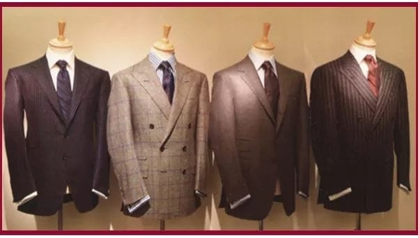 Four custom-made suits in Washington, DC