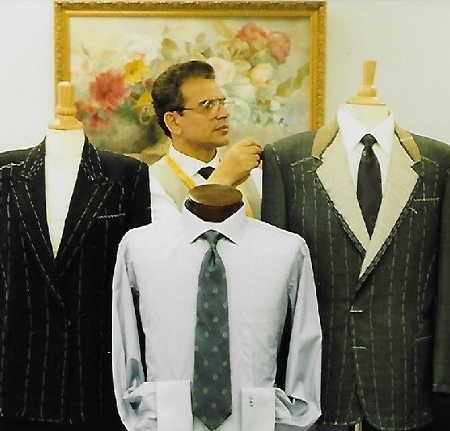 Sabatini, the custom tailor in Washington, DC with his suits
